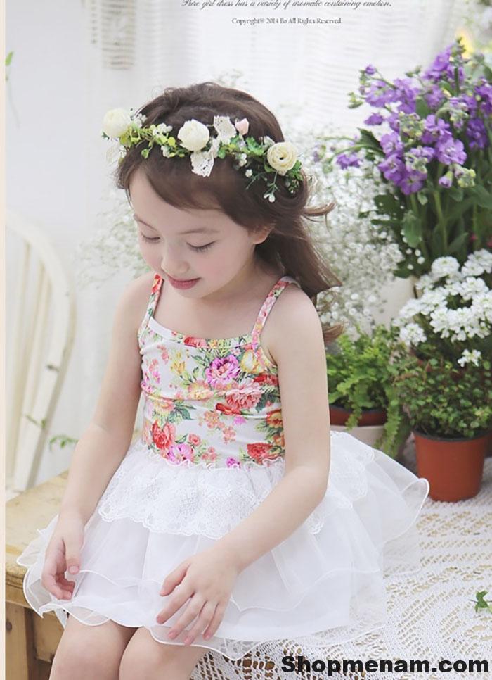 Chọn mua mẫu váy đẹp mặc mùa đông đẹp nhất cho bé gái xinh xắn 2018 4