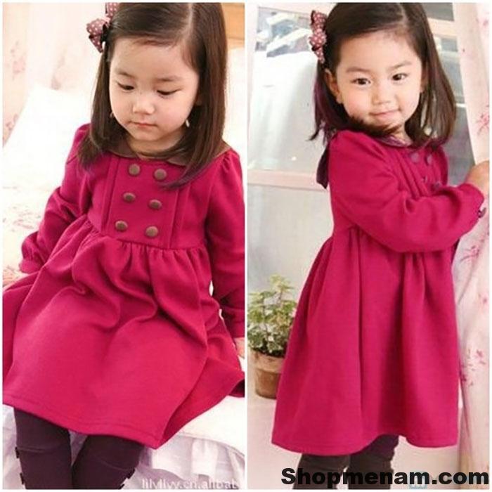 Chọn mua mẫu váy đẹp mặc mùa đông đẹp nhất cho bé gái xinh xắn 2018 7