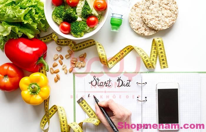Bác sĩ dinh dưỡng tư vấn nguyên tắc xây dựng thực đơn giảm béo khoa học 1