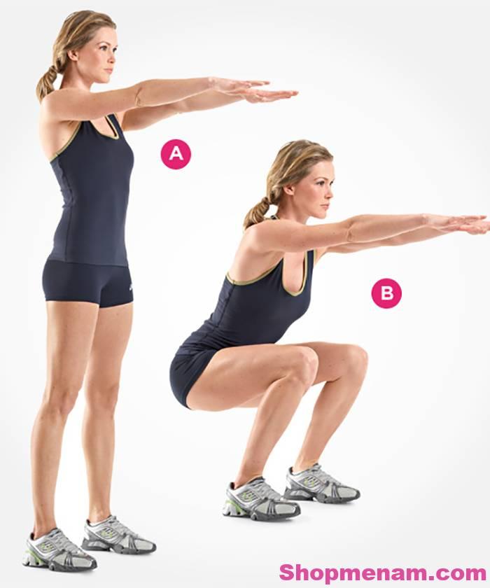 Bài tập thể dục giảm cân hiệu quả trong 30 ngày giúp giảm cân siêu tốc 2