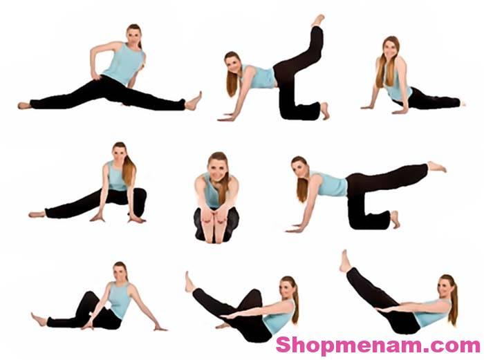 Các bài tập yoga giúp giảm cân hiệu quả đơn giản dễ thực hiên tại nhà 1