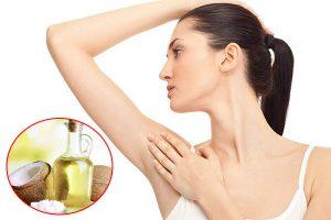 Khử mùi cơ thể bằng dầu dừa hiệu quả triệt để nhất